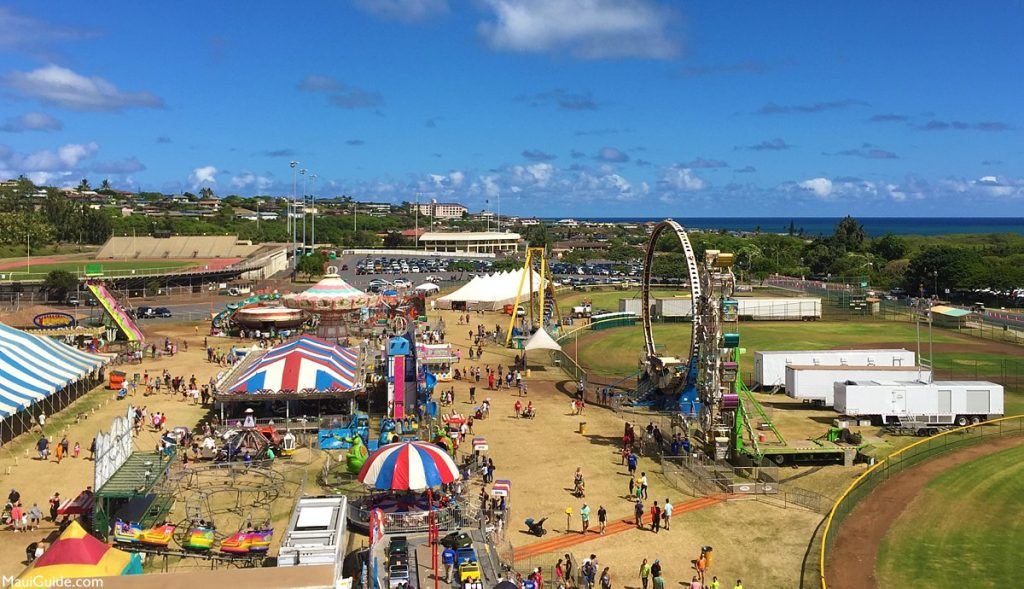 The Maui Fair returns for a 97th year of fun and festivities near The Gardens at West Maui